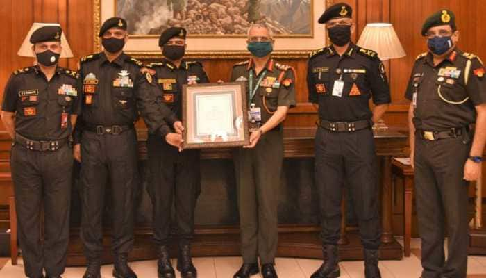 Army Chief honours 51 SAG of National Security Guards with 'Chief of Army Staff Unit Appreciation'