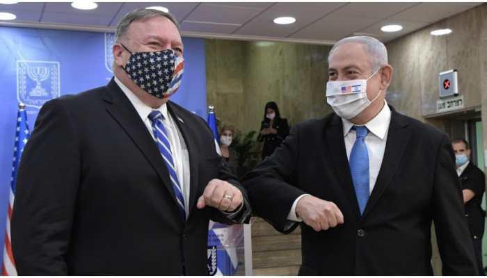 US Secretary Mike Pompeo meets Israeli PM Benjamin Netanyahu, discusses ways to address Iranian malign influence
