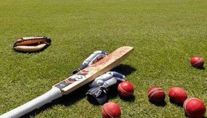 Video of youngsters playing cricket on wet pitch goes viral - Watch
