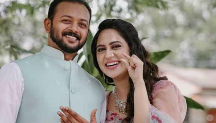 Trending: Pics from Malayalam actress Miya George's engagement to Ashwin Philip