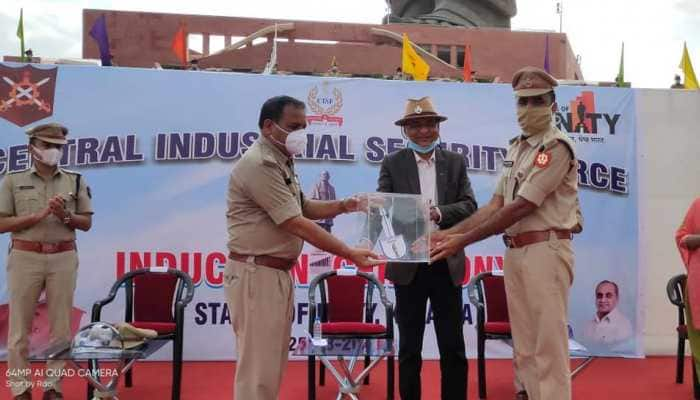 CISF takes over security of Statue of Unity in Gujarat's Kevadia