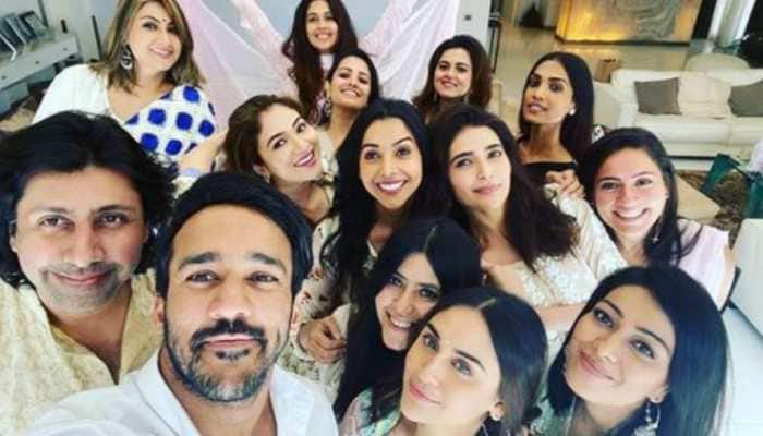 Ganesh Chaturthi 2020: Karishma Tanna, Krystle D'Souza, Anita Hassanandani join Ekta Kapoor and family for visarjan