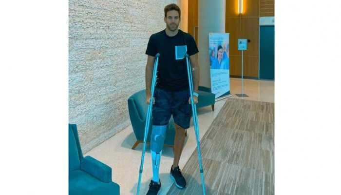 Juan Martin del Potro undergoes new surgery on troublesome knee