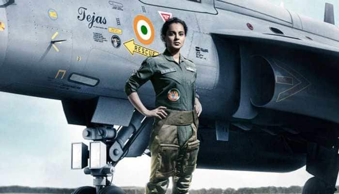Kangana Ranaut's 'Tejas' fresh look sets internet on storm, pays ode to Indian Airforce pilots!