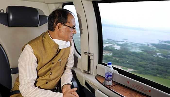 Madhya Pradesh CM Shivraj Singh Chouhan briefs PM Narendra Modi about flood situation in state