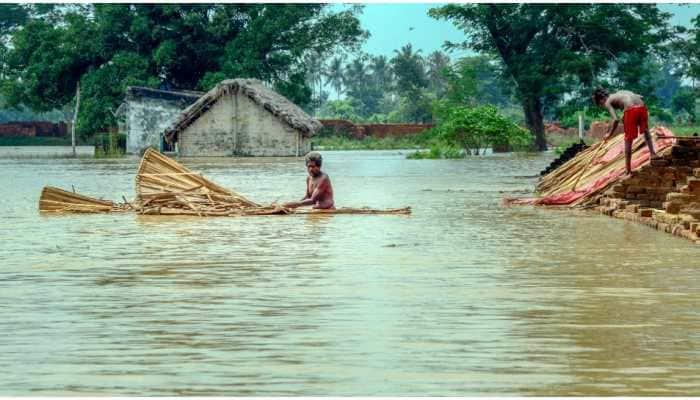 Flood water of Mahanadi inundates several villages in Odisha