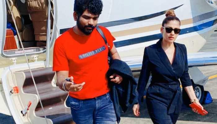 Onam 2020: Love birds Nayanthara and Vignesh Shivan arrive in Kochi to celebrate the festival