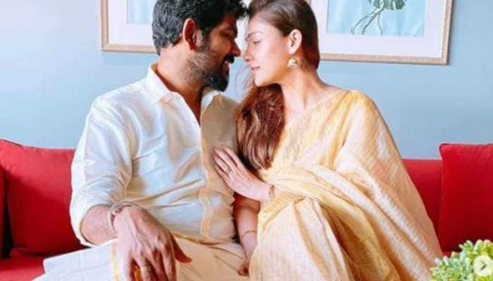 Onam 2020: Pics of Nayanthara and Vignesh Shivan from the celebrations are viral