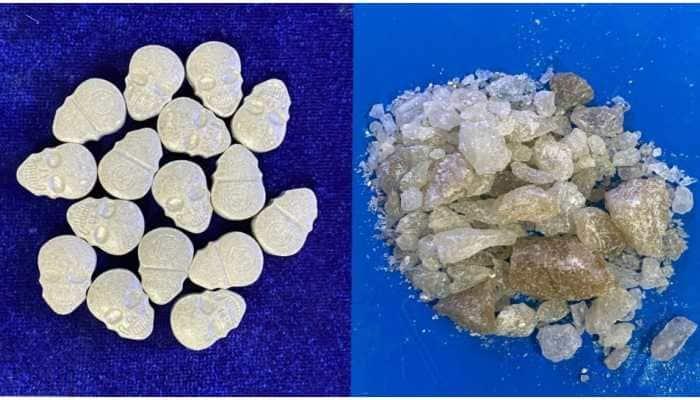 MDMA pills, crystals worth Rs 7 lakhs seized at Chennai Airport