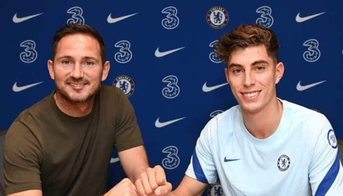 Germany midfielder Kai Havertz signs for Chelsea on five-year deal