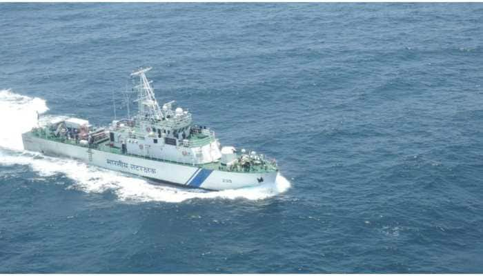 Indian Coast Guard rescues 24 distressed fishermen off Kerala Coast; search on for 31 others