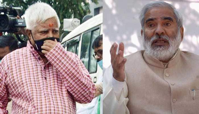 You'll not take exit from party, writes RJD chief Lalu Prasad Yadav to Raghuvansh Prasad Singh