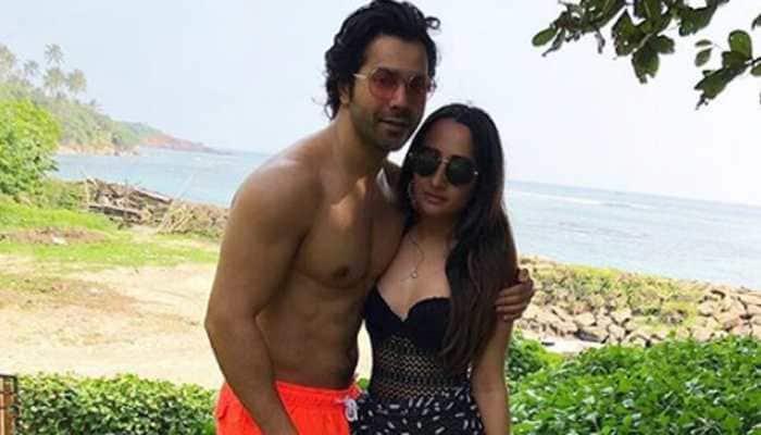 Varun Dhawan and ladylove Natasha Dalal's latest pic by the pool is goals!