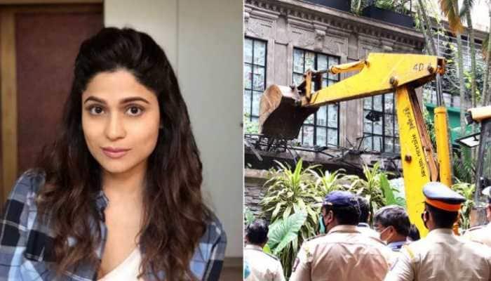 Viral: Shamita Shetty's tweet on 'death of democracy' after Kangana Ranaut's office was demolished by BMC