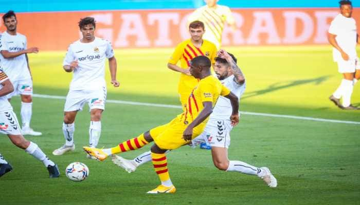 Barcelona win friendly against Gimnastic de Tarragona 3-1 as Philippe Coutinho, Ousmane Dembele score on returns