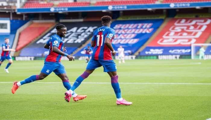 Premier League: Crystal Palace beat Southampton as Wilfried Zaha nets 50th league goal