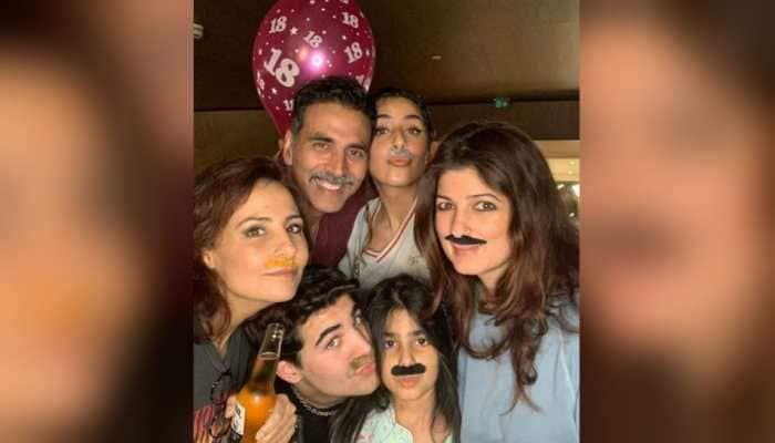 How Akshay Kumar and Twinkle Khanna celebrated son Aarav's birthday