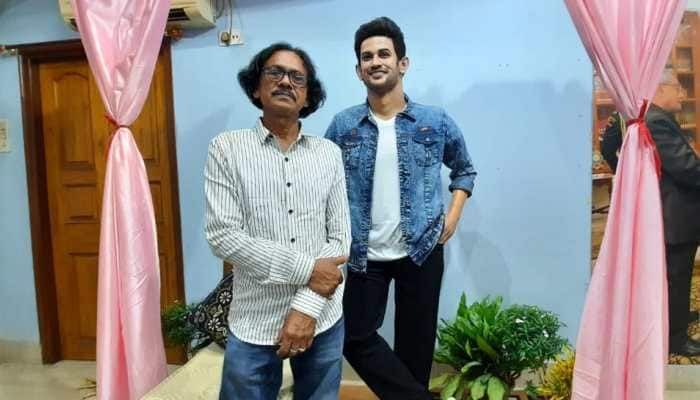 Sushant Singh Rajput's first wax statue comes up in West Bengal - In Pics