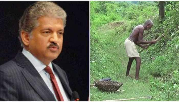 As impressive as Taj: Anand Mahindra would be 'honoured' to gift tractor to farmer who carved out 3-km-long canal in 3 decades | India News | Zee News