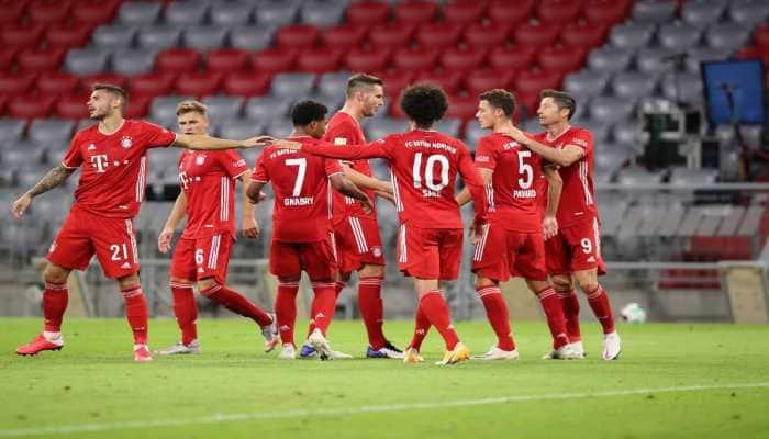 Bayern Munich delivered message with 8-0 rout of Schalke 04 in Bundesliga opener : Coach Hansi Flick
