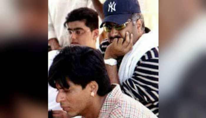 When young Arjun Kapoor accompanied father Boney Kapoor to sets of 'Shakti'