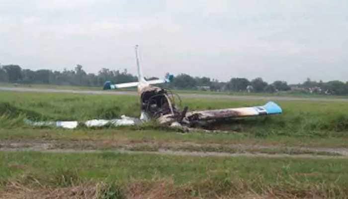 Pilot killed after trainer aircraft crashes in Uttar Pradesh's Azamgarh