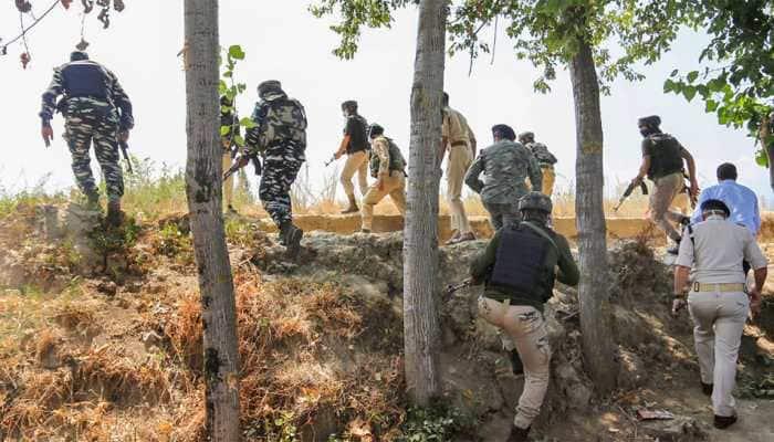 CRPF jawan injured during encounter with terrorists in Jammu and Kashmir's Budgam