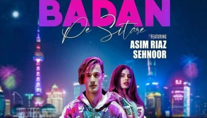 Bigg Boss 13 fame Asim Riaz features in singer Sehnoor's retro music video 'Badan Pe Sitare', new poster out!