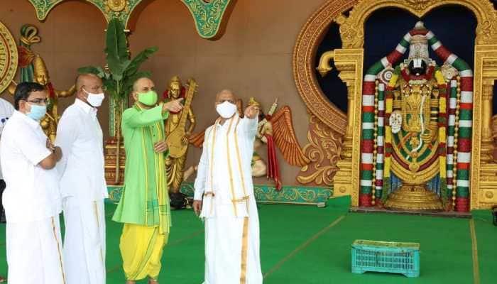 Two CMs to take part in Brahmotsavam celebration in Andhra Pradesh's Tirumala on September 23