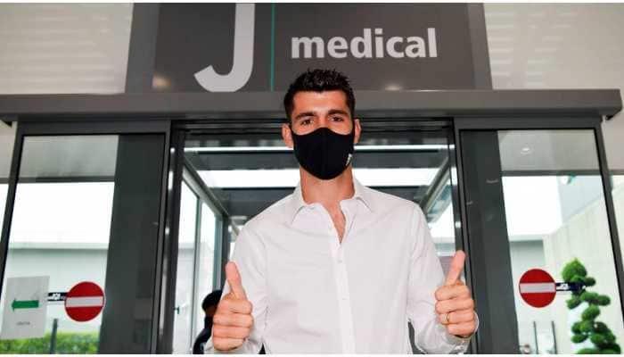 Juventus sign Atletico Madrid forward Morata Alvaro on one-year loan deal