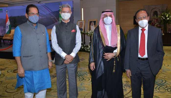 EAM S Jaishankar, NSA Ajit Doval at Saudi Arabia National Day in Delhi; Saudi envoy calls India important strategic partner
