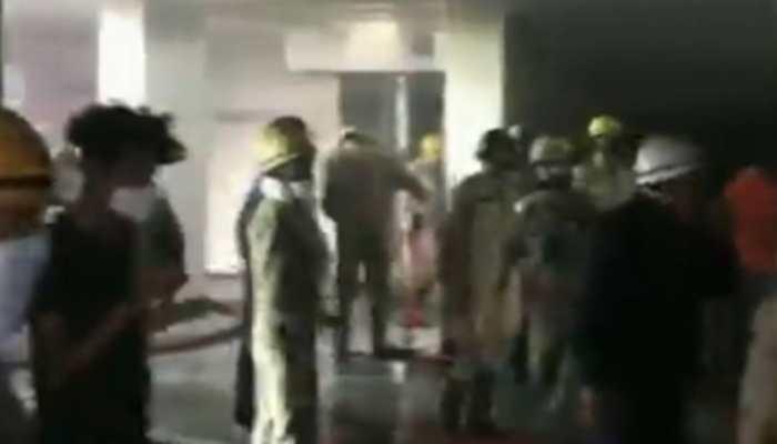 Fire erupts in Delhi mall, 8 fire tenders douse blaze