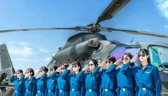 First female army pilots trained by Chinese PLA Ground Force to graduate in 2021