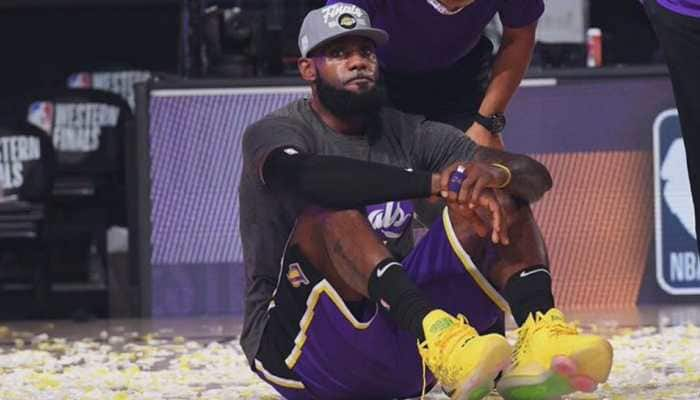 LeBron James guides Los Angeles Lakers to NBA Finals for first time in 10 years