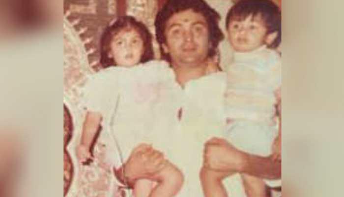 Ahead of Ranbir Kapoor's birthday, sister Riddhima Kapoor Sahni treats us to some unseen family pics