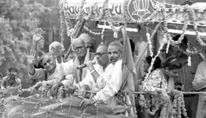 Babri masjid demolition case: Timeline of events unfolded from 1949-2020 |  India News | Zee News