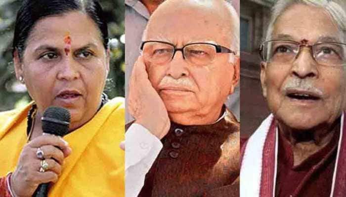 Babri Masjid demolition case verdict tomorrow; LK Advani, Uma Bharti, MM Joshi unlikely to attend court proceedings