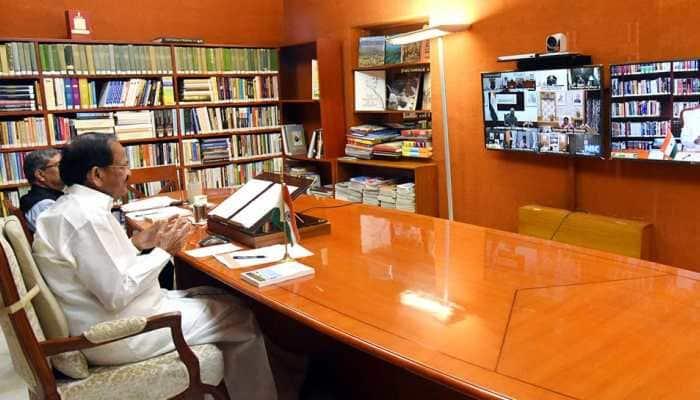 Vice President Venkaiah Naidu tests COVID-19 positive, opts for home quarantine