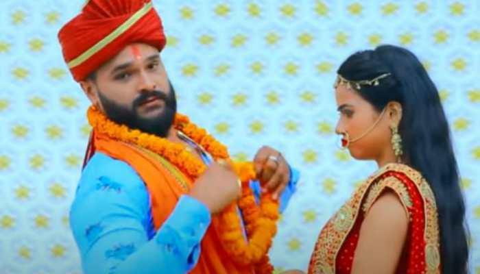 Bhojpuri superstar Khesari Lal Yadav's hit track 'Lover Se Shadi' shatters YouTube - Watch