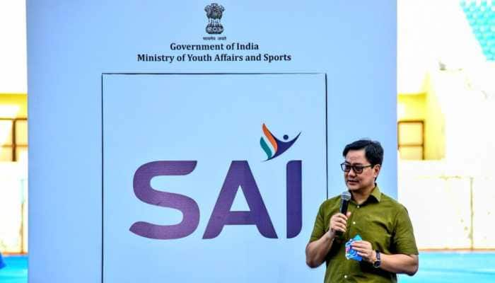 Sports Minister Kiren Rijiju launches Sports Authority of India's new logo