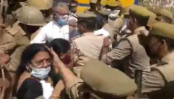 Hathras gang-rape case: After Rahul Gandhi, Trinamool MP Derek O'Brien allegedly manhandled by Uttar Pradesh Police