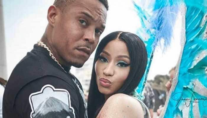 Rapper Nicki Minaj and husband Kenneth Petty welcome their first child!