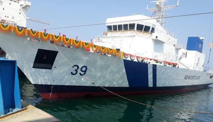Indian Coast Guard launches Offshore Patrol vessel 'Vigraha', to be stationed at Vishakapatnam