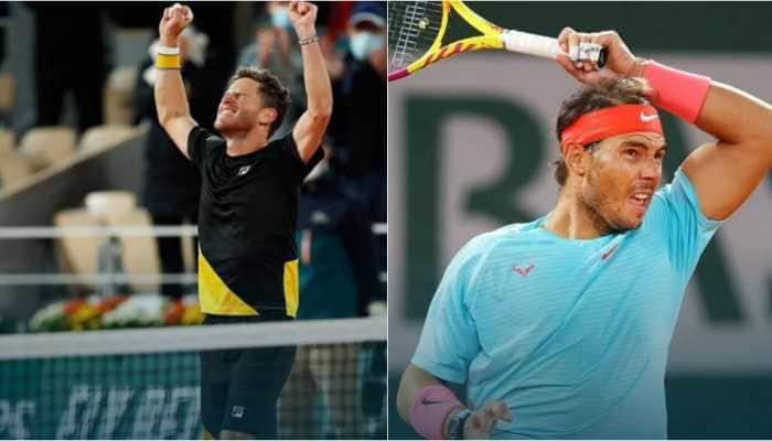 French Open 2020: Diego Schwartzman beats Dominic Thiem to set up semi-final clash with Rafael Nadal