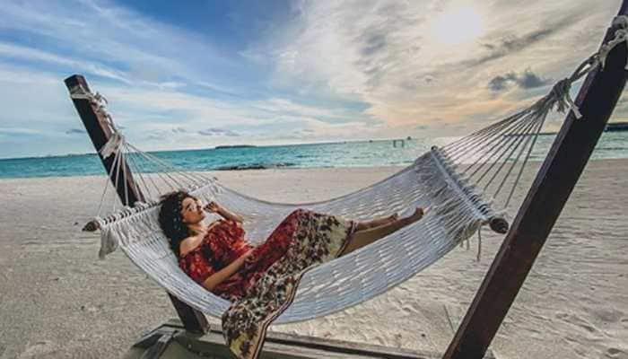 Taapsee Pannu's vibrant pics from Maldives vacay will give you goals!