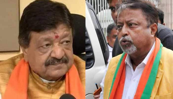 Nabanna Chalo: Kailash Vijaywargiya, Mukul Roy among top Bengal BJP leaders booked for unlawful assembly, violation of law
