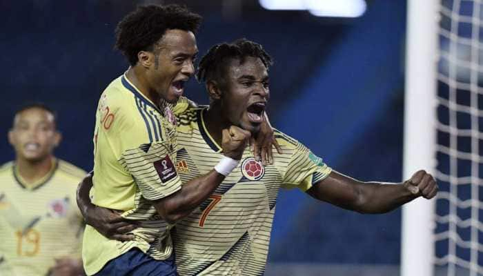 FIFA World Cup Qualifiers: Colombia overrun Venezuela with three first-half goals