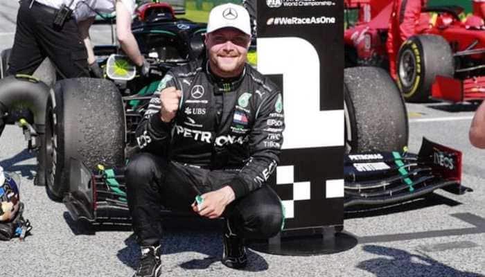 Lewis Hamilton beaten to Eifel Grand Prix pole by Mercedes teammate Valtteri Bottas