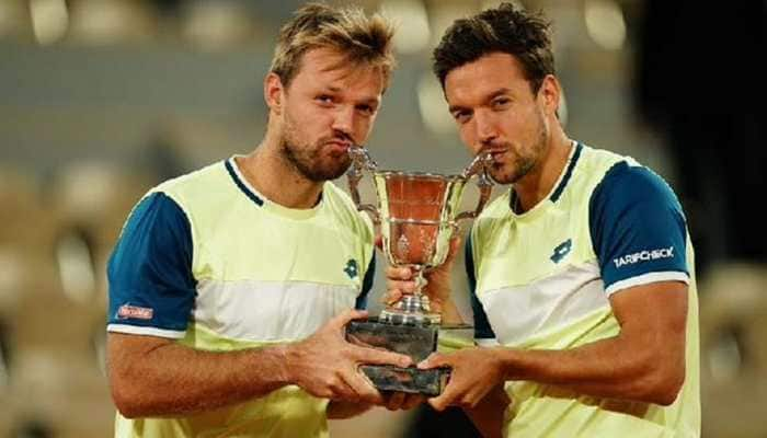 Germany's Kevin Krawietz, Andreas Mies retain French Open men's doubles title