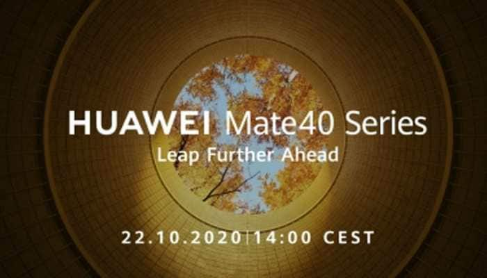 Huawei to debut its Mate 40 smartphones on October 22